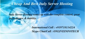 Italy Server Hosting